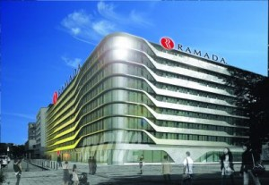 Ramada Alexanderplatz Aussenansicht