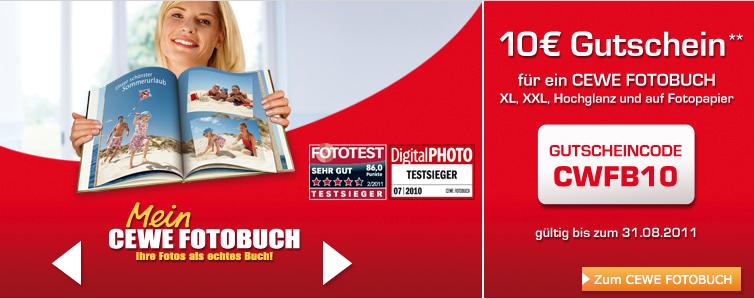 Fotobuch Gutschein
