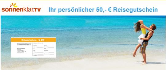50 EUR Reisegutschein
