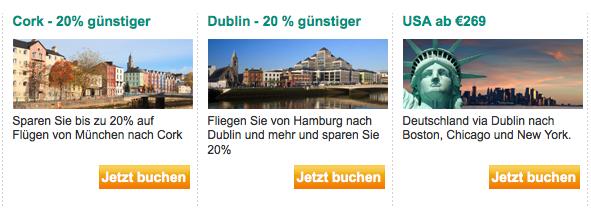 Aer Lingus Angebote