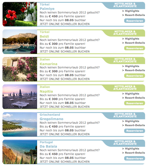 Club Med Angebote